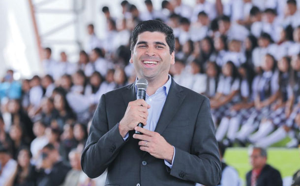 Vicepresidente, designado Joven Líder Mundial 2020