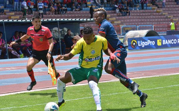Olmedo y Orense empatan en el Olímpico de Riobamba