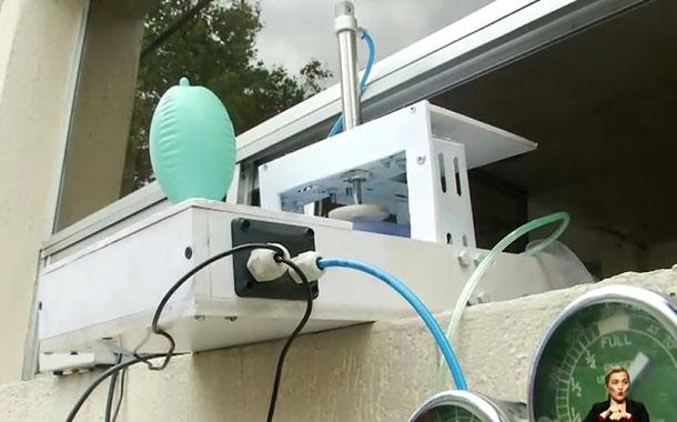 Ciudadanos crearon un prototipo de respirador artificial