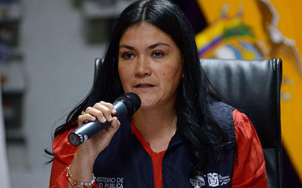 Ministra Andramuño presenta carta de renuncia