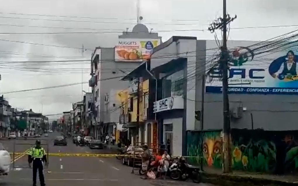 Vía que conecta a otras provincias cierra sus pasos las 24 horas