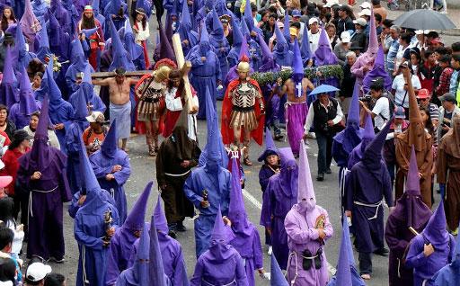 Iglesia en Ecuador defiende procesiones de Semana Santa en espacios abiertos