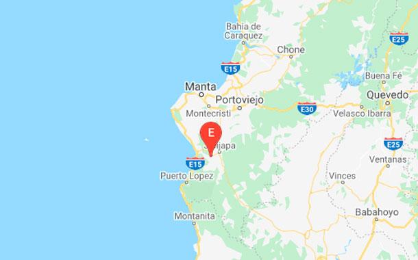 Se registra sismo de 4.67 grados en la provincia de Manabí