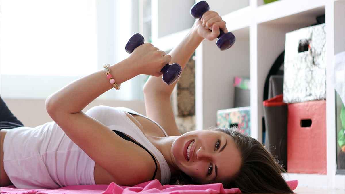 La playlist perfecta para hacer ejercicio en casa