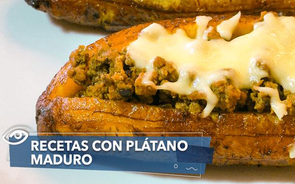 Deliciosas recetas con plátano maduro: lasaña, aperitivos y más