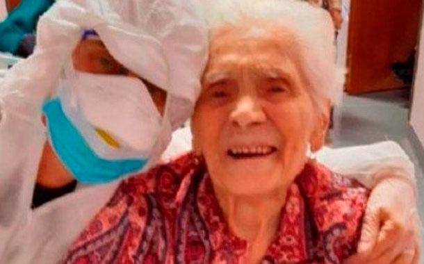 La mujer de 104 años que venció al coronavirus