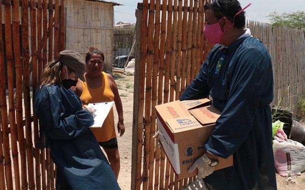 Ceipa entrega más de 7 200 kits alimenticios a familias en Manabí