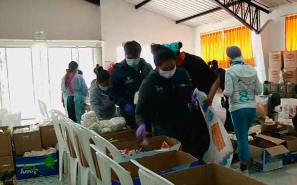 Iniciativas de control y ayuda en Cayambe por la emergencia sanitaria
