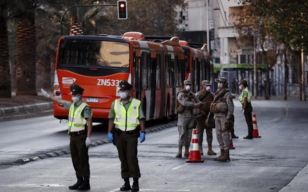 Chile supera los 5.000 contagiados por Covid-19