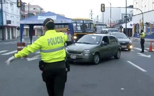 Operativos de control vehicular se intensifican en Guayaquil