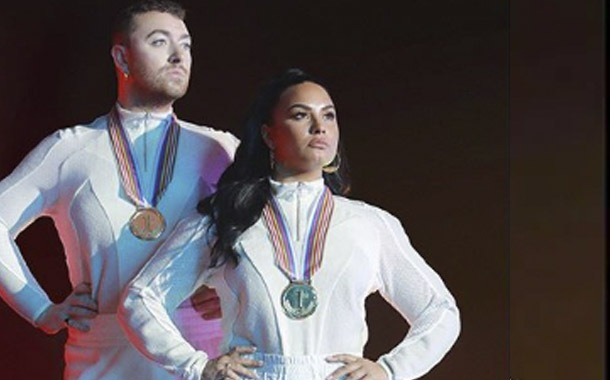 Demi Lovato y Sam Smith estrenan
