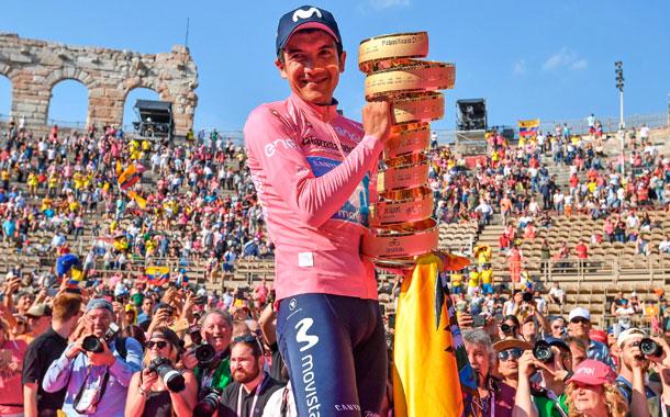 El Giro de Italia podría realizarse en octubre
