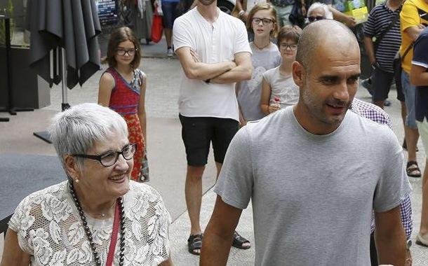 Muere la madre de Josep Guardiola