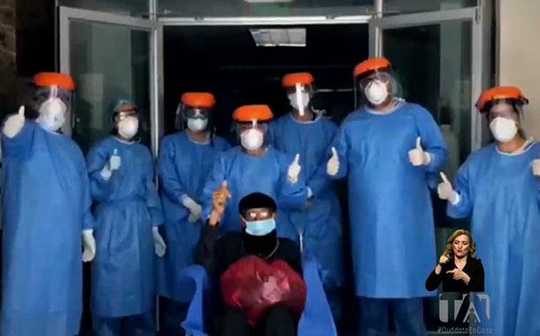Tres pacientes fueron dados de alta en Loja