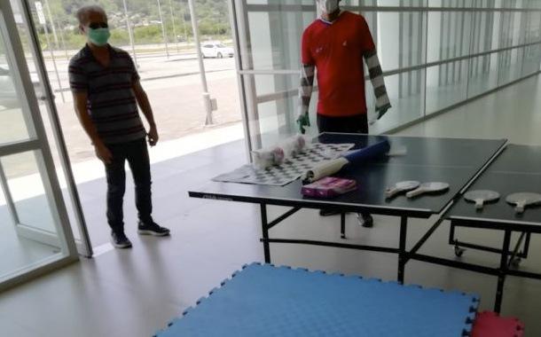 Infraestructura deportiva de Manabí al servicio de la emergencia sanitaria