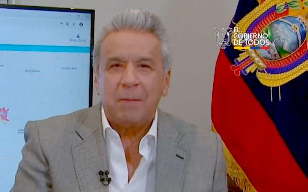 Lenín Moreno: Hay ciudadanos que no cumplen las medidas