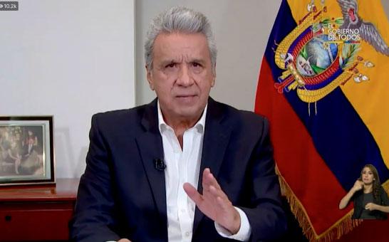 Moreno anuncia investigación de empresas públicas por la consulta popular de 2018