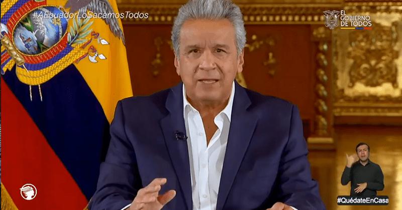 Moreno anuncia nuevas medidas para enfrentar la crisis por coronavirus