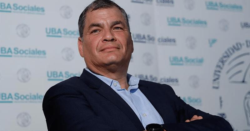 Corte Nacional notifica sentencia de 8 años contra expresidente Correa
