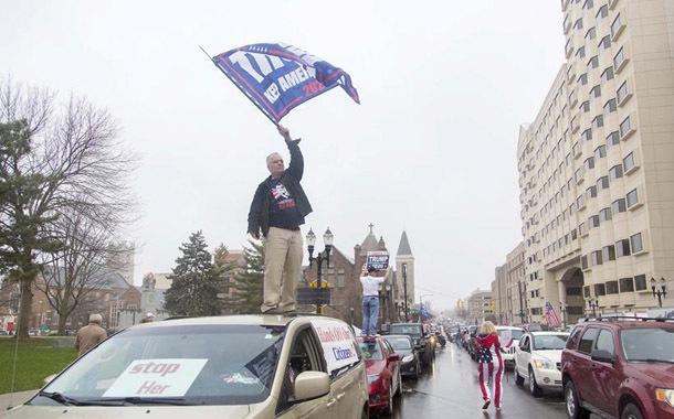 Protestas contra las medidas de confinamiento