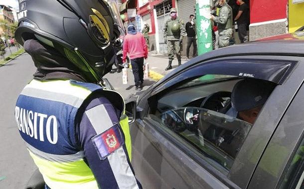Restricción vehicular: 457 conductores fueron sancionados