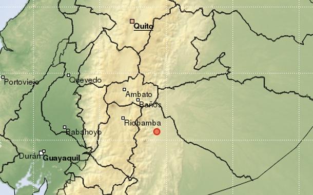 Sismo se registró la madrugada de este viernes en el oriente ecuatoriano