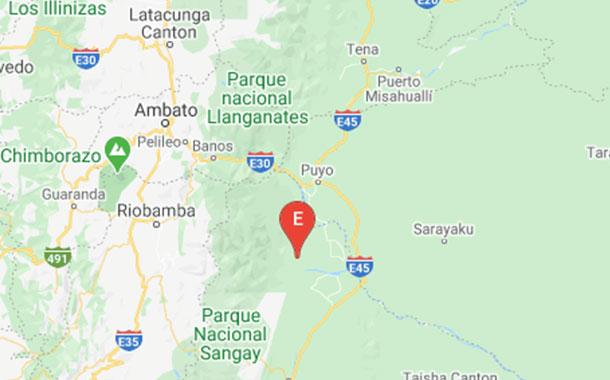Cinco sismos se registraron en la Amazonía