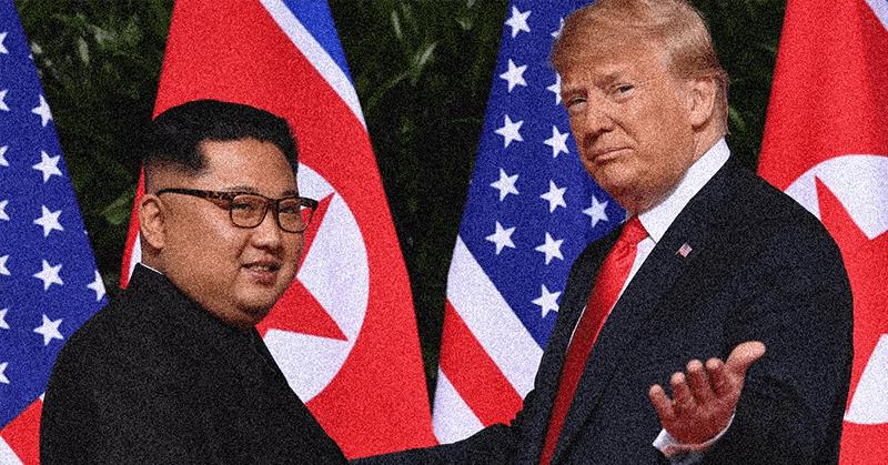 Trump asegura saber el estado de salud de su homólogo norcoreano Kim Jong-un