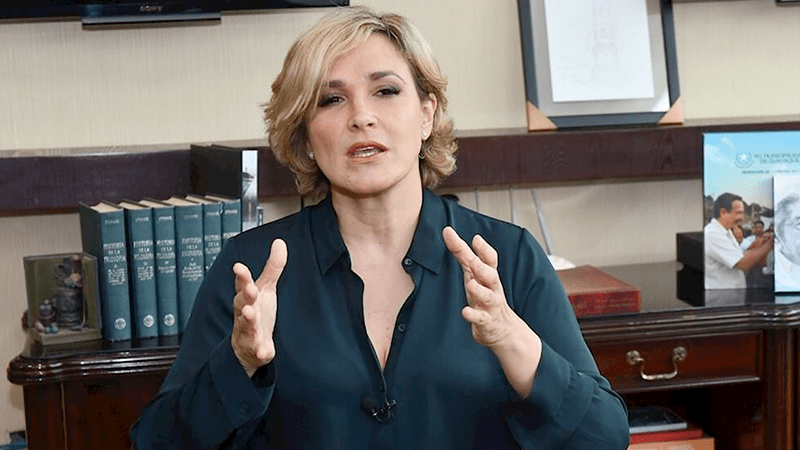 La alcaldesa Viteri calificó el impacto del Covid-19 en Guayaquil 'como el horror de una guerra'