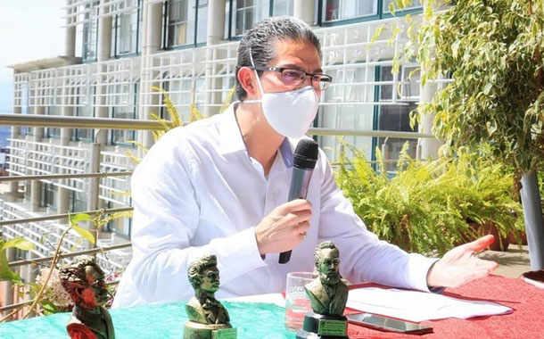 Alcalde de Ambato anuncia que la ciudad seguirá en rojo