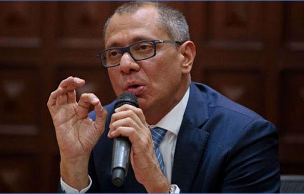 Jorge Glas y el líder de Los Choneros comparten un mismo abogado