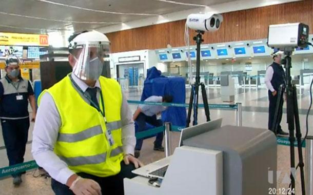 Aeropuerto de Guayaquil se alista para el reinicio de sus operaciones