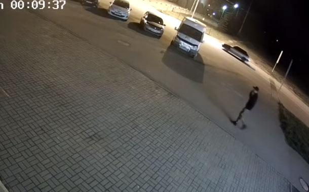 Oso ataca a un joven y le causa una herida en la pierna (VIDEO)