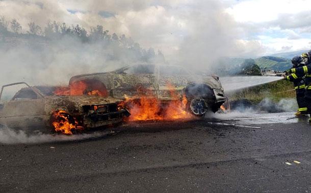Fatal accidente de tránsito en la Autopista General Rumiñahui