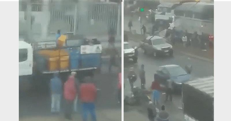 Se registraron saqueos en una feria informal de Ambato