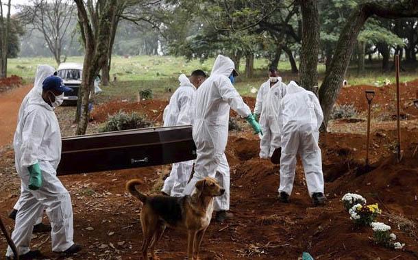 Brasil supera las 1000 muertes diarias por Covid-19