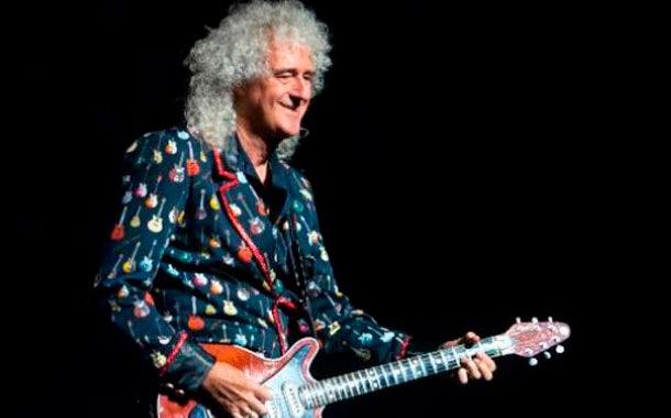 Brian May, guitarrista de Queen fue  hospitalizado de emergencia