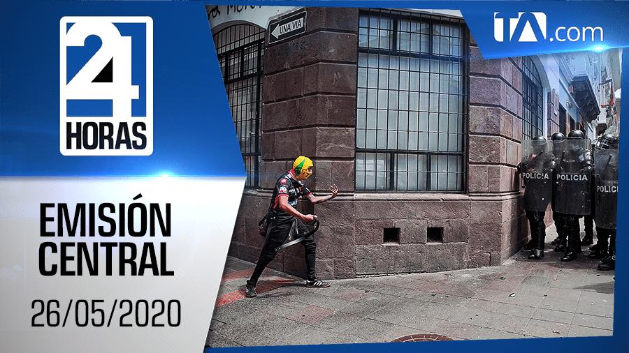 Noticiero 24 Horas, 26/05/2020 (Emisión Central)