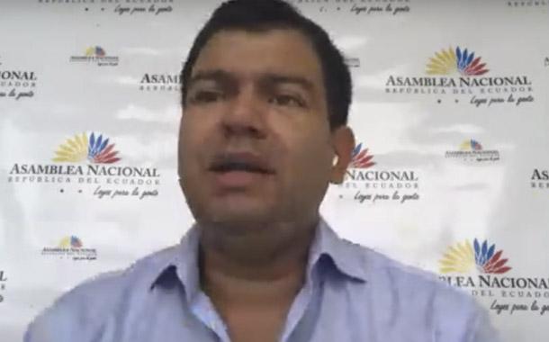 César Litardo analiza la aprobación de las leyes Humanitaria y de Finanzas Públicas