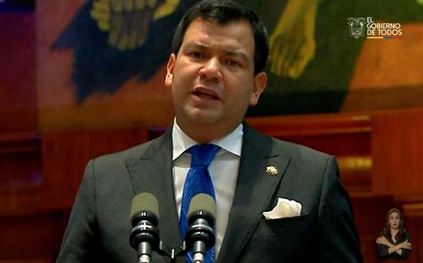 Lenín Moreno rindió su informe a la Nación 2020