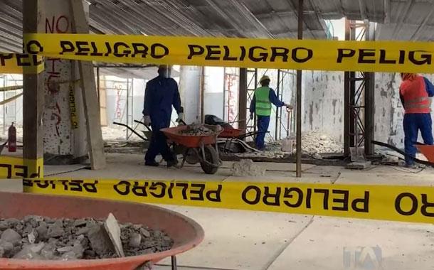 El sector de la construcción retoma sus actividades laborales en Cuenca