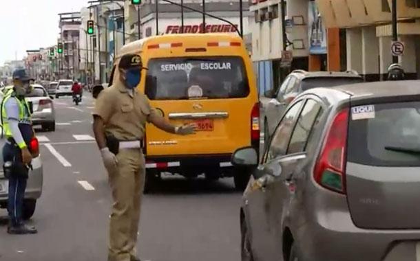 Operativos de control continúan en 15 puntos de Guayaquil