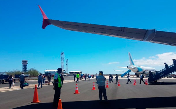 Sectores cuestionan la posibilidad del arribo de vuelos internacionales a Galápagos