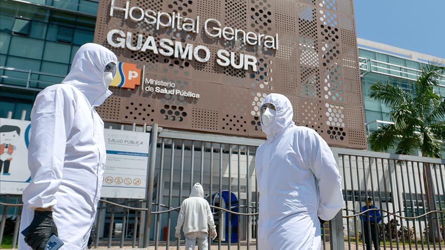 Allanan el hospital del Guasmo Sur por nuevas compras con sobreprecio