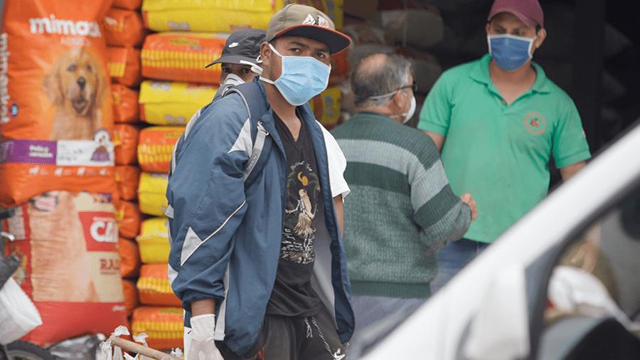 La informalidad retornó a Quito tras 59 días de aislamiento