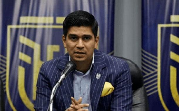 Jaime Estrada fue ratificado como presidente de la FEF
