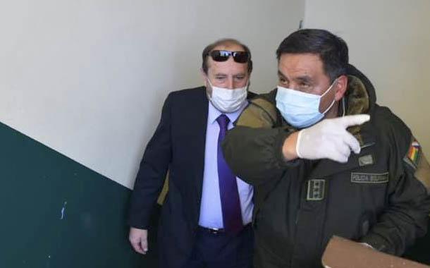 Exministro arrestado en Bolivia por corrupción