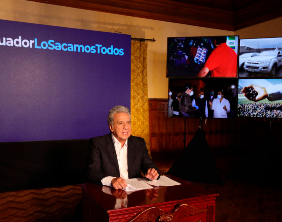Noticias Ecuador: Noticiero 24 Horas 19/05/2020 (Primera Emisión)