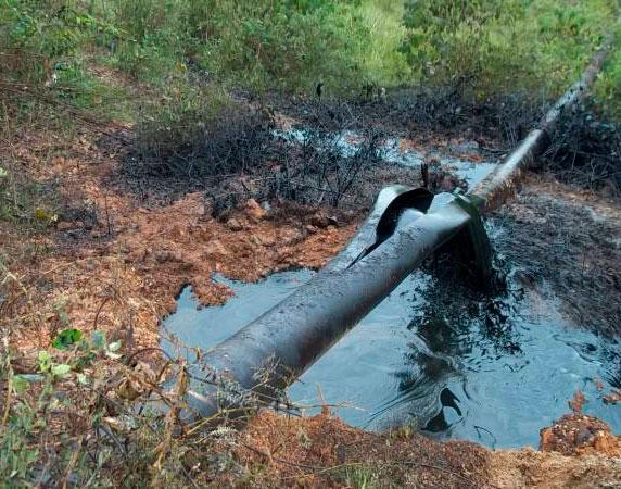 Grupos armados de Colombia atentan contra el Oleoducto Transandino