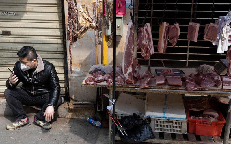 La OMS no recomienda el cierre de mercados animales